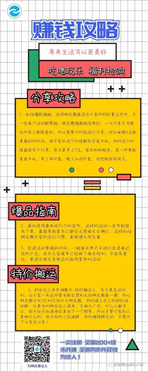 联联周边游【达人攻略3】快速升级大达人技巧与方法!